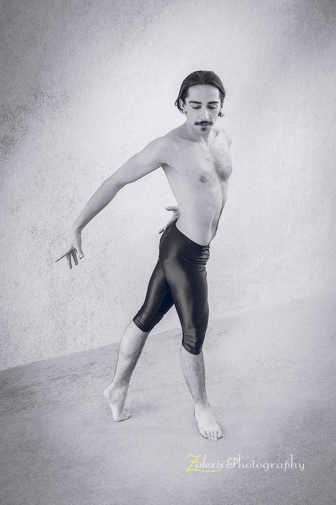Zalexis Photo-sedinta foto cu dansator de dans sportiv