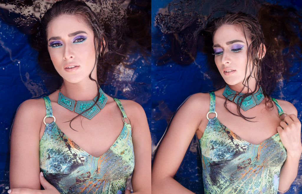 Zalexis Photo- Water Addiction editorial in Summers Magazine