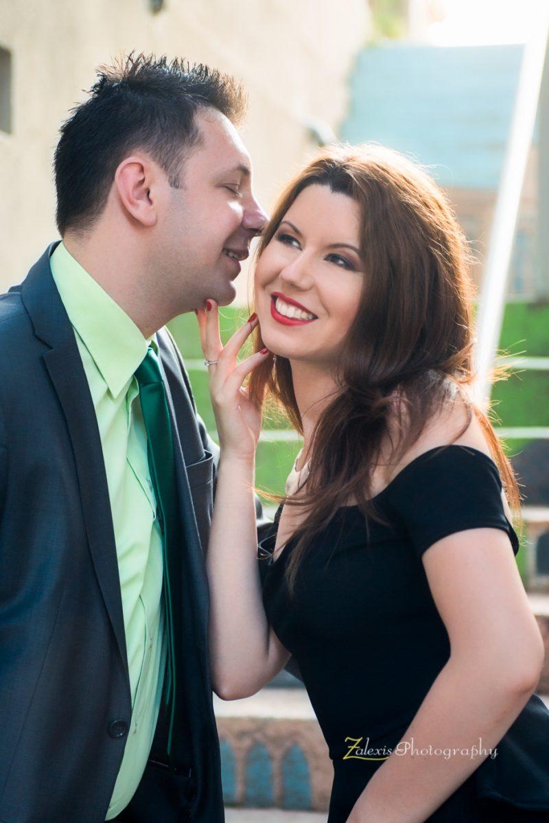 Zalexis Photo - Sedinta foto profesionala de logodna pe tema Sexy Rock, in Bucuresti