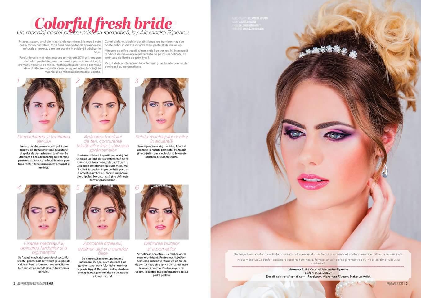 Colorful Fresh Bride Editorial Primavara 2015 Zalexis Photography