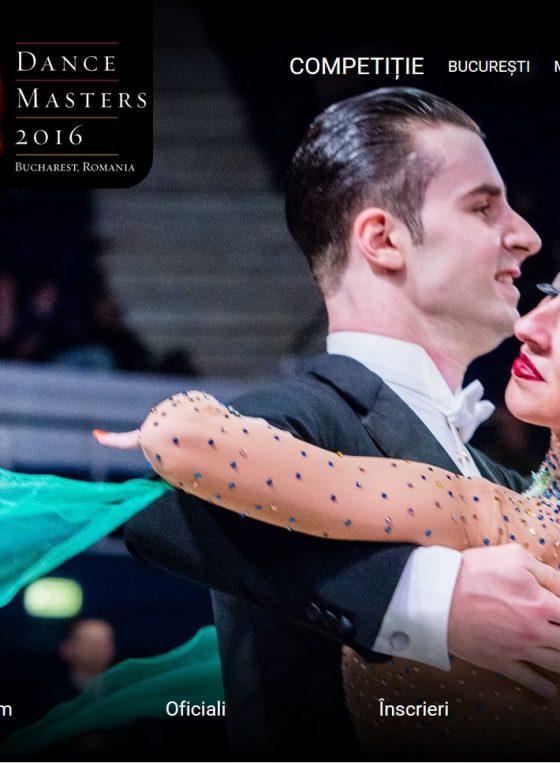 Imagine realizata de Zalexis Photography pe prima pagina a site-ului oficial Dance Masters