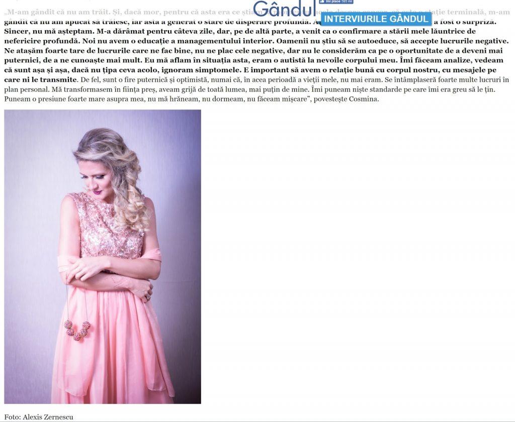 Alexis Zernescu si Zalexis Photo in ziarul Gandul