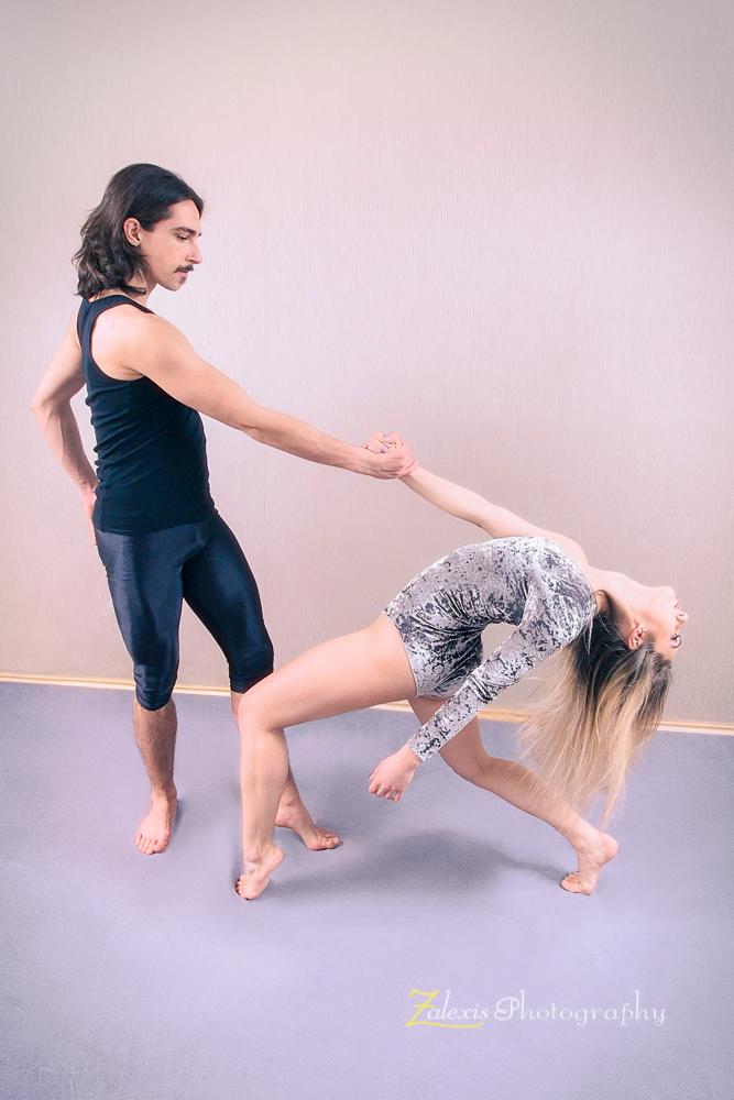 Zalexis Photo-cu dansatori de dans contemporan