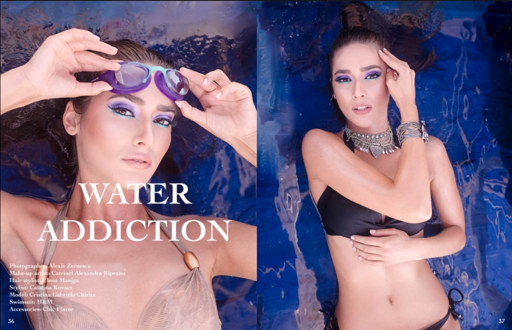 Zalexis Photo- editorial de moda in Summers Magazine