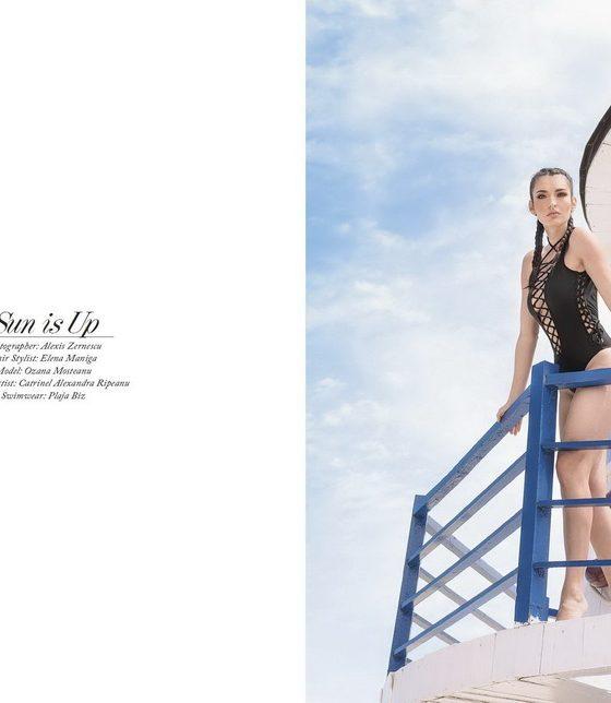 Coperta realizata de Zalexis Photography pentru revista americana Elegant Magazine, August 2017