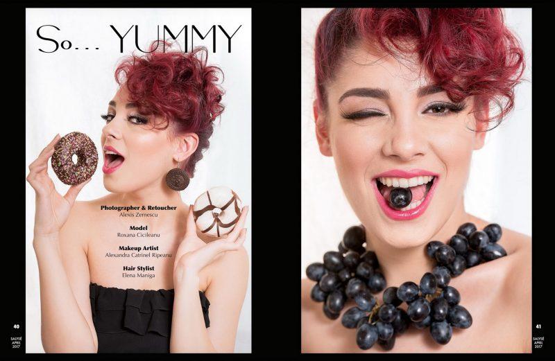 Zalexis Photo Editorial in Salyse Magazine, USA