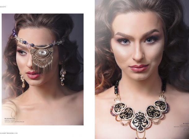 Zalexis Photography_The Golden Era Editorial - Elegant Mag, pages 6-7